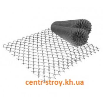 Сетка рабица (1 м) без покрытия (ячейка 30 мм)