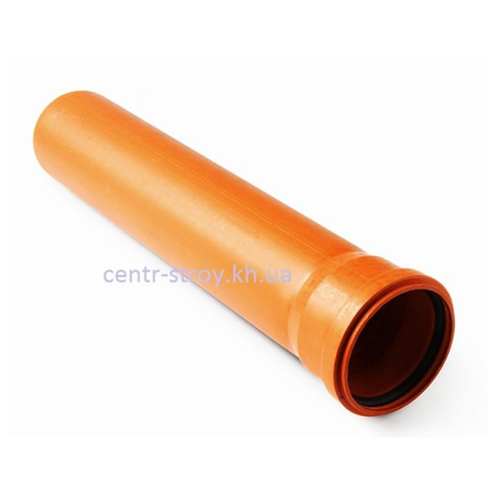 Труба для наружной канализации 200 мм (3м) 4 мм