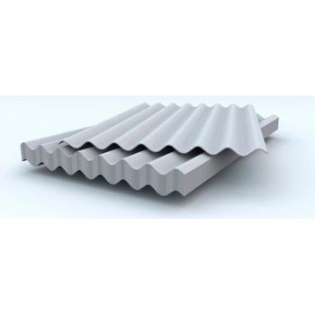 Шифер 8-волновой серый