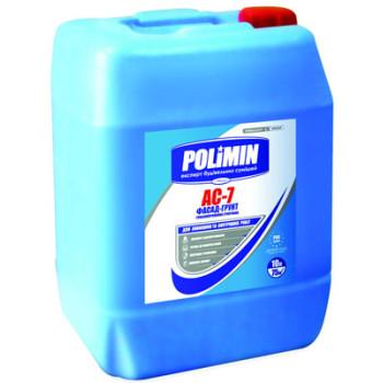 ПОЛИМИН АС-7 грунтовка глубокого проникновения (10л)