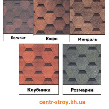 Битумная черепица Docke Коллекция ШЕФФИЛД