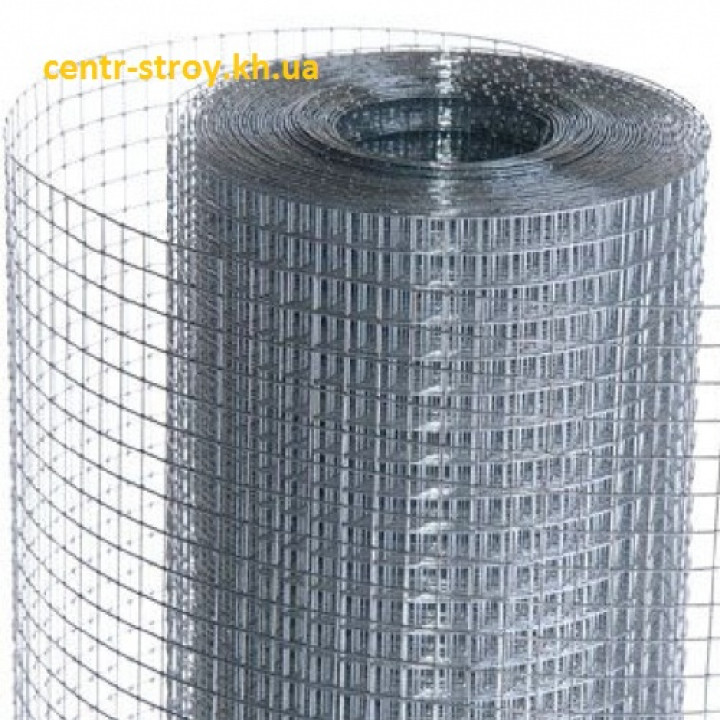 Сетка сварная оцинкованная 0,9х12,5х25 (м2)