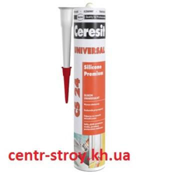 Ceresit CS 24 Герметик универсальный силиконовый эластичный