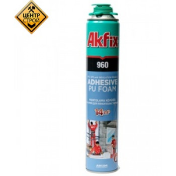 Akfix Пена-клей PRO 960 Mantolama 900мл