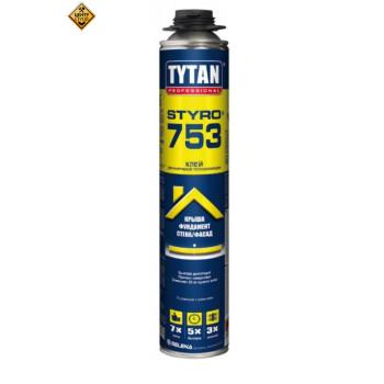 Tytan Пена-клей проф О2 STYRO 753  GUN B3 750 мл