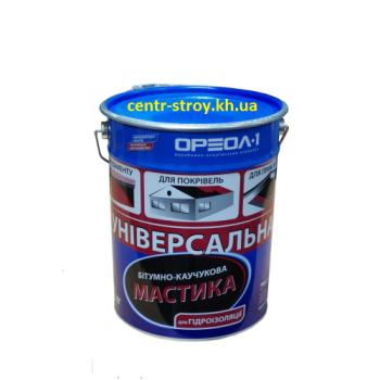 Ореол Мастика битумно-резиновая (20 кг)